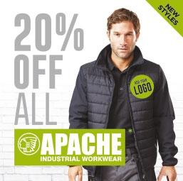Apache Workwear - 20% OFF